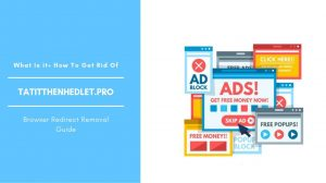 How To Remove Tatitthenhedlet.pro Pop-up Ads