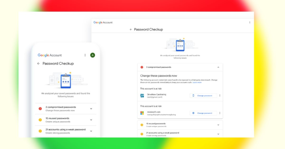 Google Integrates Password Checkup feature To Chrome Browser