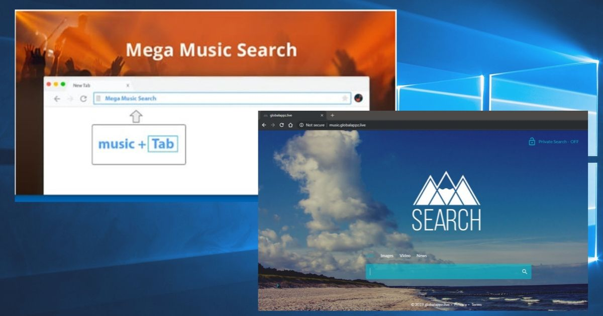 Mega Music Search Redirect