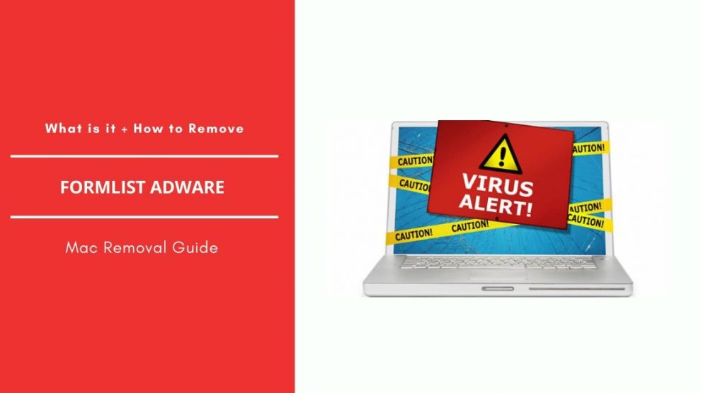 Remove FormList Adware From Mac OS