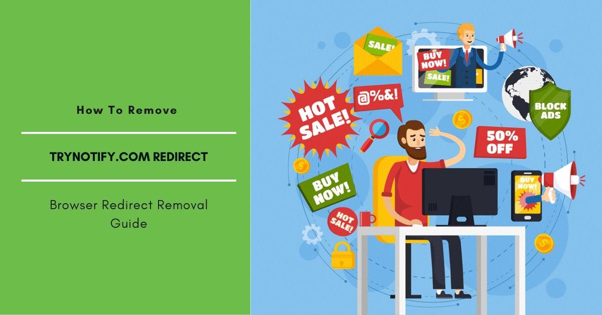 Remove Trynotify.com Redirect