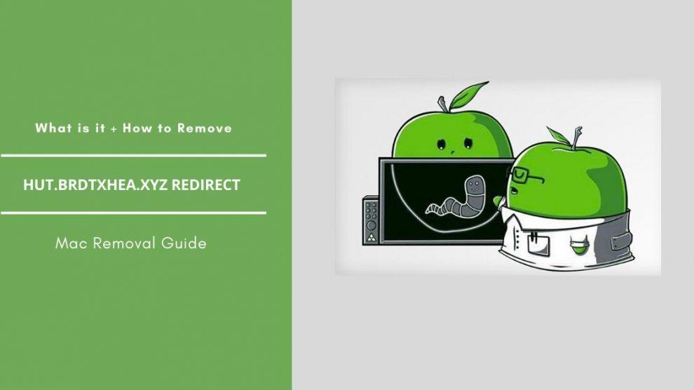 Remove Hut.brdtxhea.xyz Redirect From Mac
