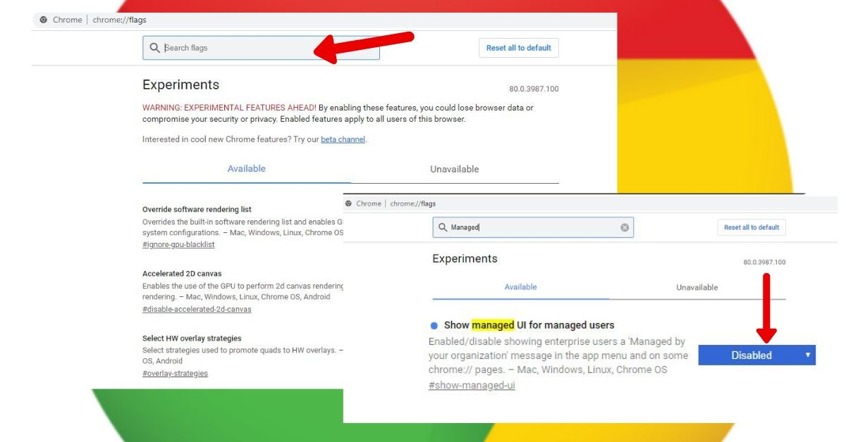 """Disable The """"Managed by your organization"""" Hijack Windows"""