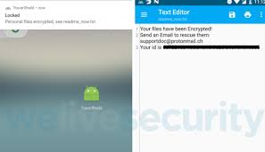 Android Ransomware spread via fake apps