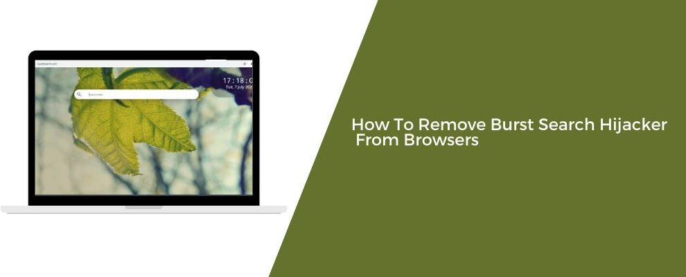 How To Remove Burst Search Hijacker From Browsers