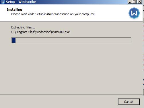 VPN-Windscribe Bundle carrying Backdoor Trojan