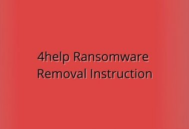 How To Remove 4help Ransomware From Your System