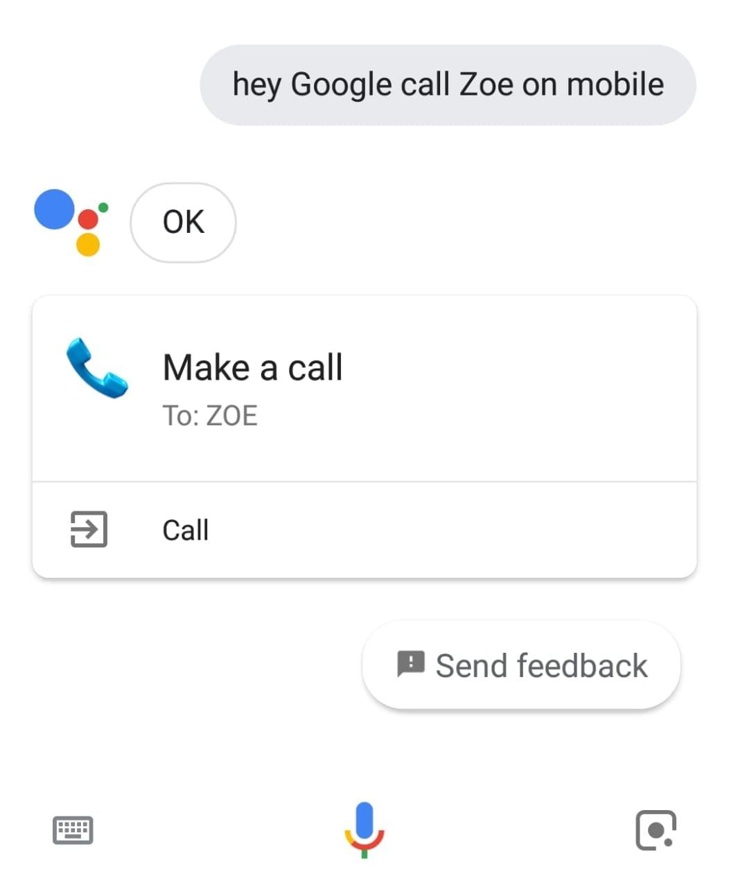 Call ZOE