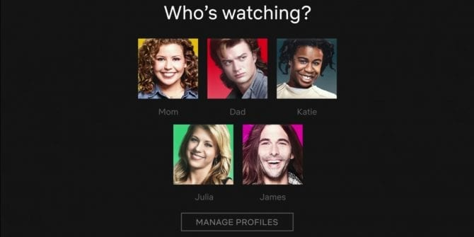 Netflix New Profile Icons