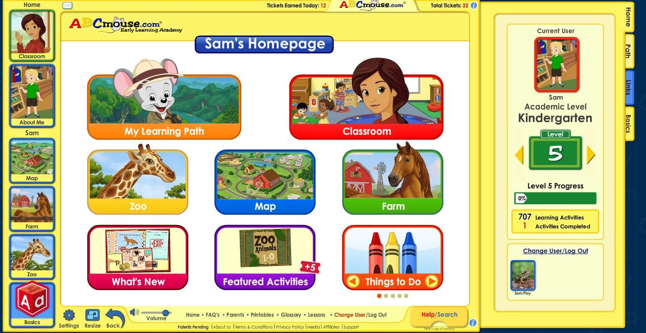 ABCMouse popular educational app