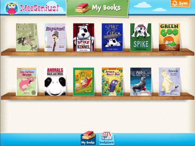 MeeGenius educational app