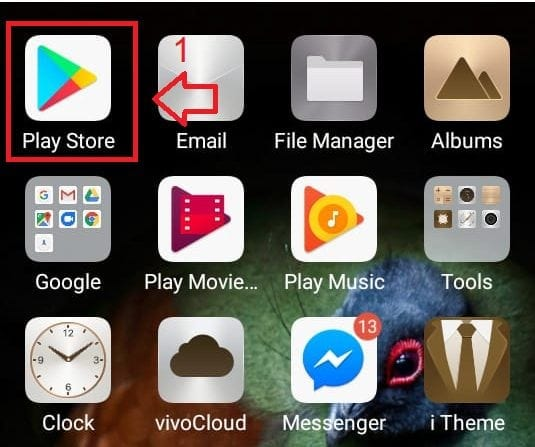 Enable Google play Protect step1