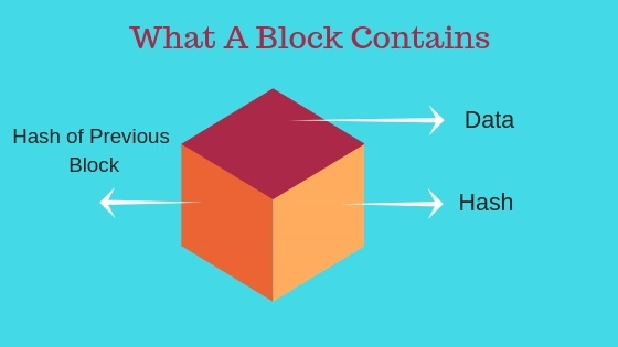 What A Block Contains in Blockchain