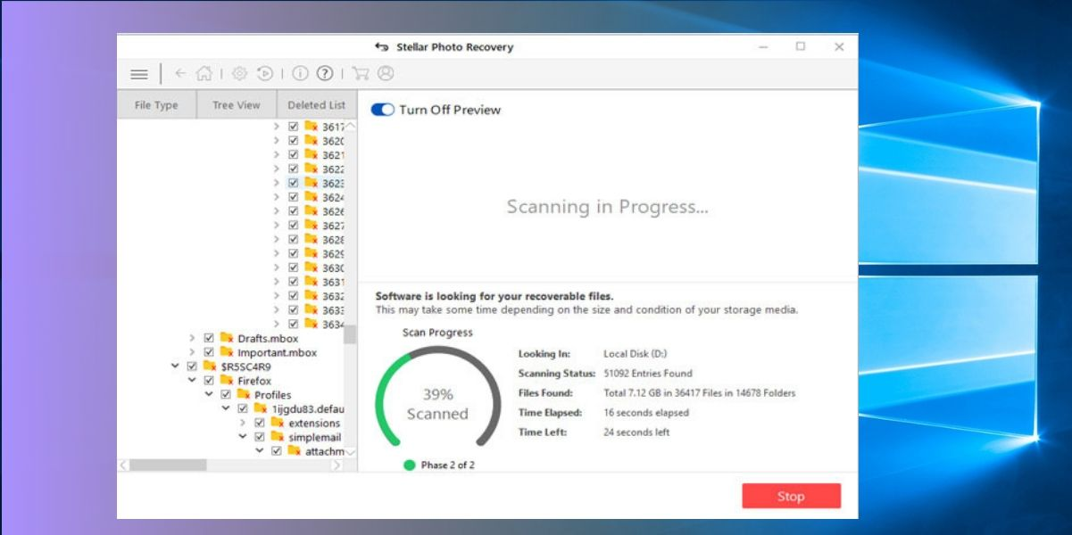How to Recover Deleted Photos from Windows 3