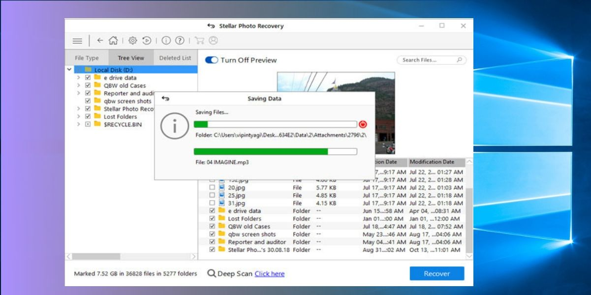 How to Recover Deleted Photos from Windows 5