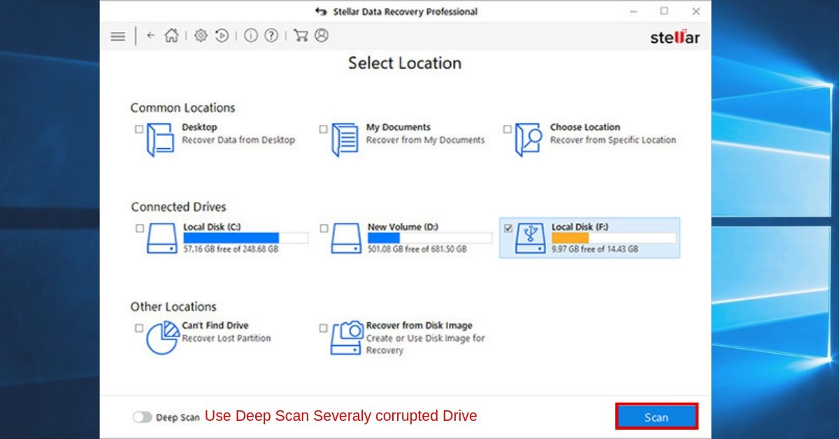 How to Recover Lost or Deleted Files from RAW Disk on Windows OS 4