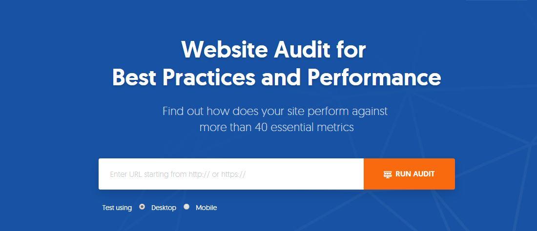 5 Free Audit Tools To Improve Website Performance-Website audit Tool