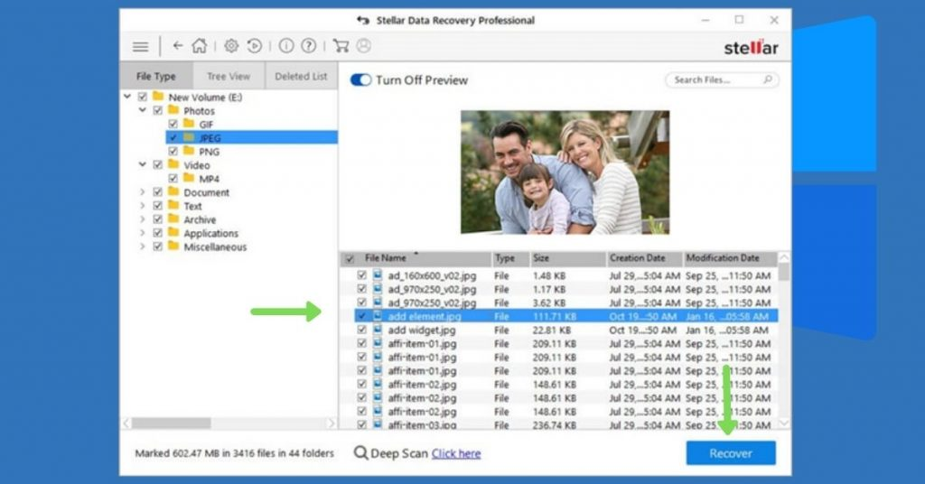 Data recovery from formatted drive 2