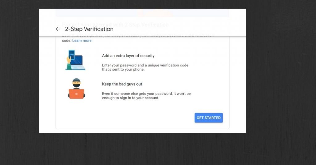 Google Account 2-step verification